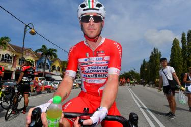 Belletti taglia per primo il traguardo nella seconda tappa del Giro di Sicilia