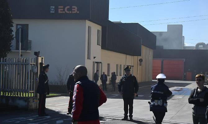 Esplosione in fabbrica a Bergamo, morti due operai