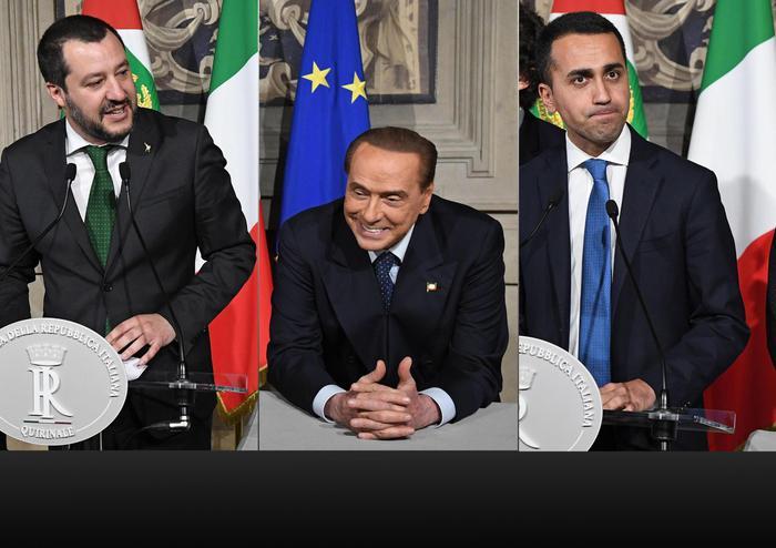 Governo, accordo Lega - M5s: Berlusconi non voterà la fiducia