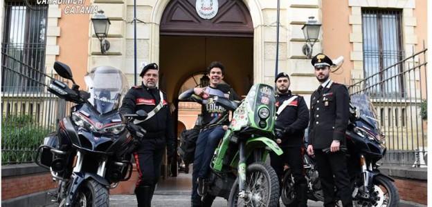Catania, ritrovata moto rubata a blogger messicano