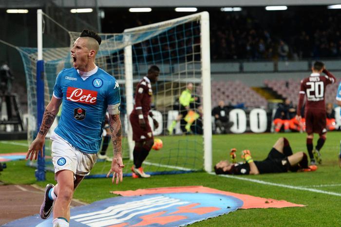 Napoli, Insigne e Hamsik affondano il Toro: 2-1