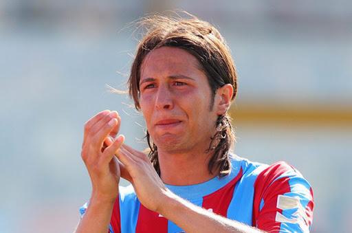 Il capitano del Catania Calcio Biagianti dona un letto di terapia intensiva al Cannizzaro