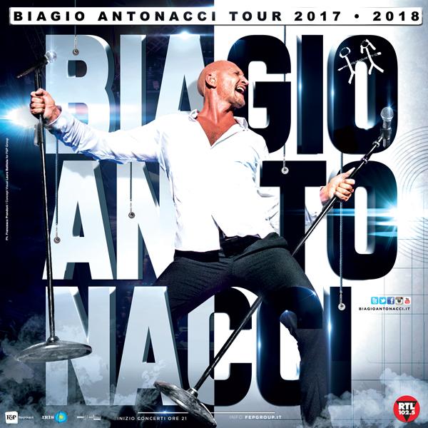 Musica, Biagio Antonacci vola in Sicilia: due tappe ad Acireale