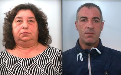 Droga nel Siracusano, arrestati moglie e fratello del boss Trigila