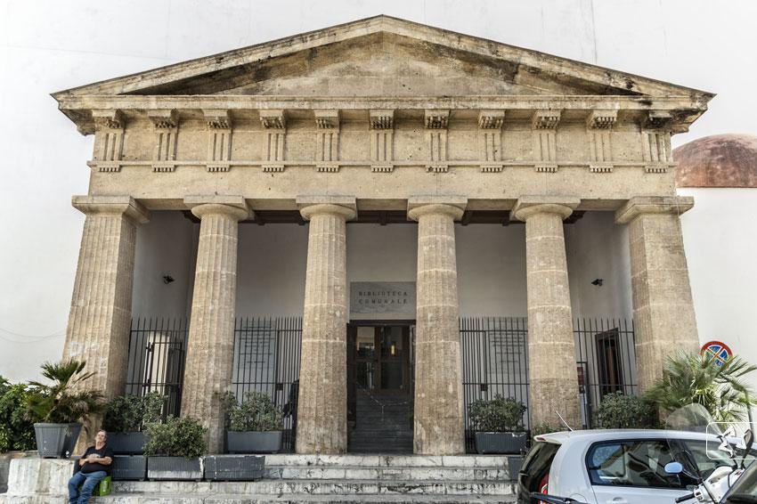 La biblioteca comunale di Palermo intitolata a Leonardo Sciascia