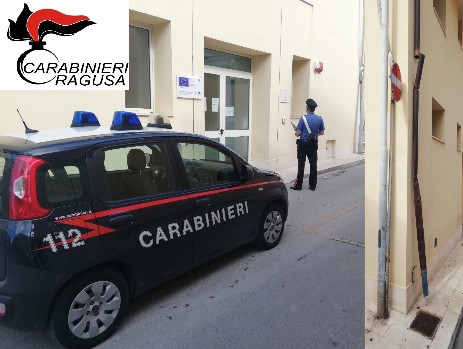 Santa Croce Camerina,  2 giovani sorpresi a rubare le grondaie di rame