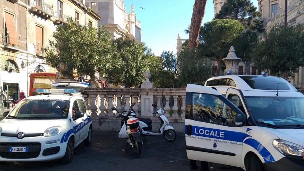 """Catania, polizia locale sequestra 4 scooter elettrici: """"Non sono bici"""""""