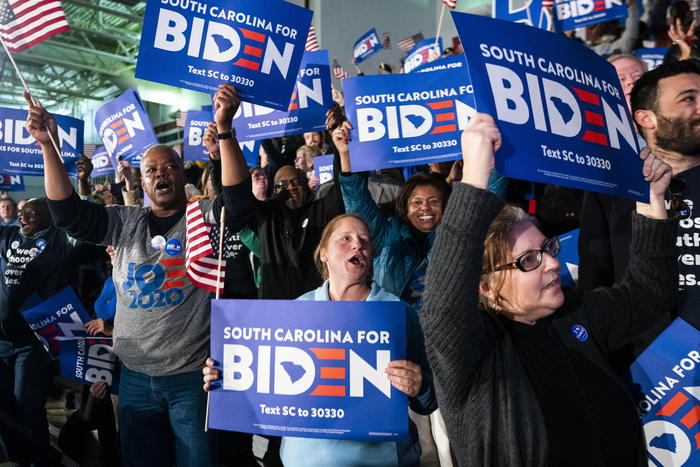 Usa 2020, Biden vince la primarie in South Carolina