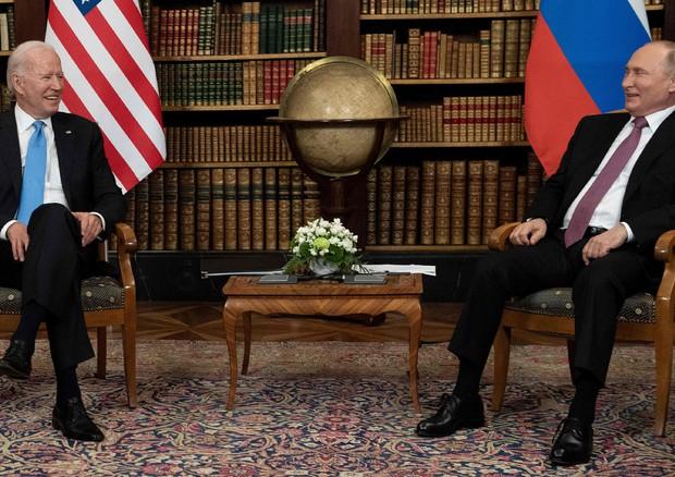 Ginevra, al via il faccia a faccia tra Biden e Putin
