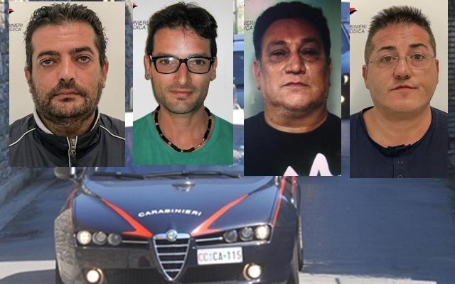 Spacciavano tra  Modica e Scicli,  quattro persone arrestate