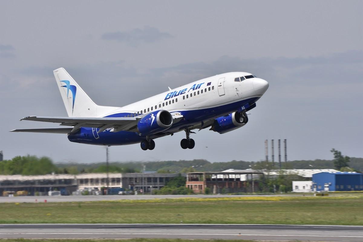 Nuova rotta di BlueAir tra Reggio Calabria e Torino: primo volo il 25 giugno