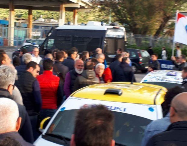 Blutec, protesta a oltranza a Termini per il rinnovo della Cis