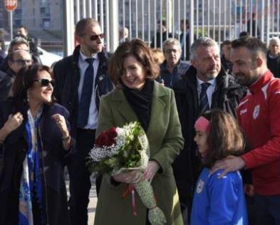 Boldrini a Scampia, De Magistris: mostrato volto che ci piace