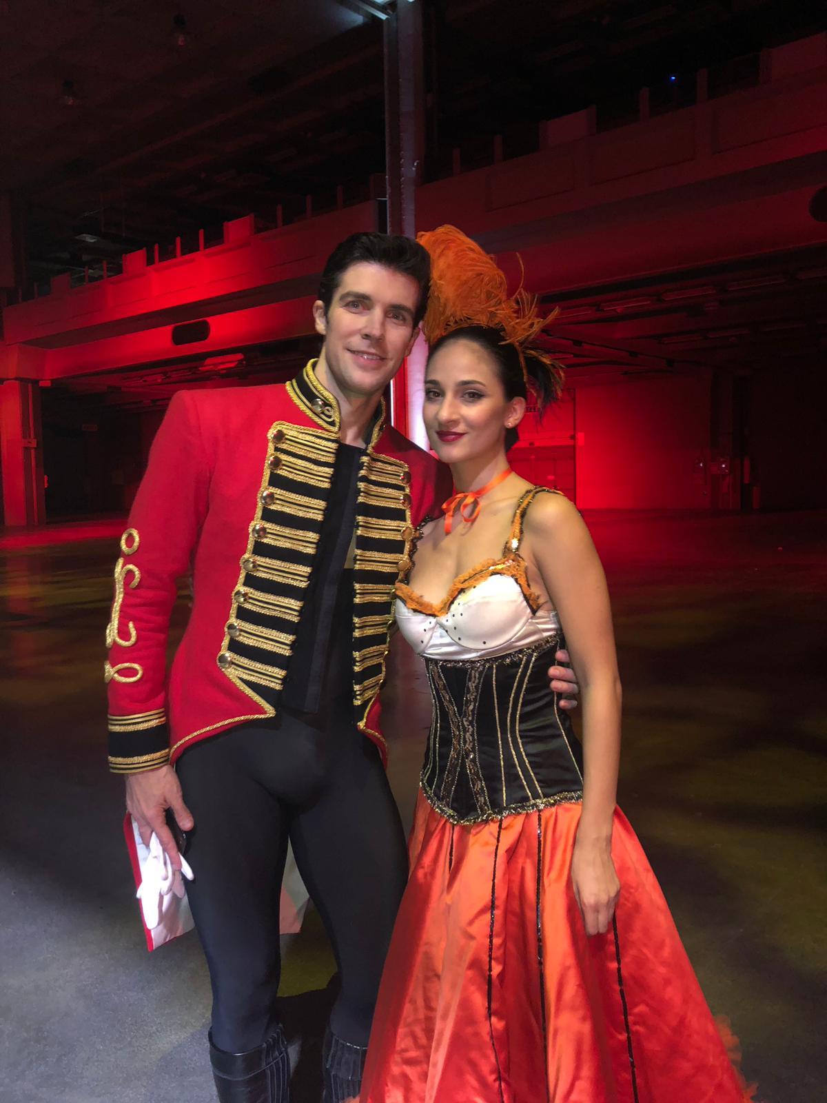 La ballerina siracusana Federica Ficara su Rai Uno con Roberto Bolle