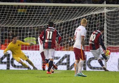 Il Bologna ferma la Roma: finisce pari (2-2)