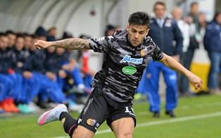 Il Catania spreca troppo e la Juve Stabia rimonta il gol di Bombagi ( 1 - 1)