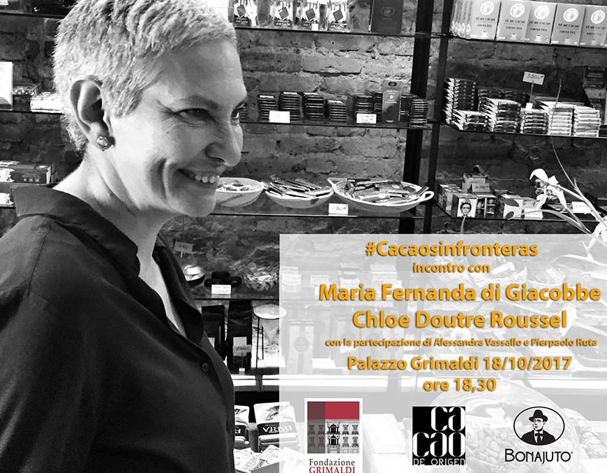 Modica, cioccolato: a Palazzo Grimaldi incontro con Maria Fernanda di Giacobbe