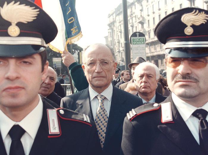 E' morto a Milano Francesco Saverio Borrelli, fu a capo del pool di 'Mani pulite'