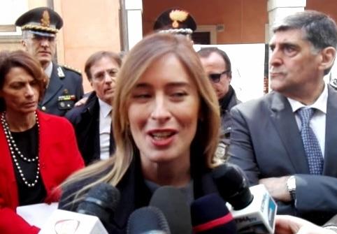 """G7, Maria Elena Boschi a Taormina: """"A maggio saremo pronti"""""""