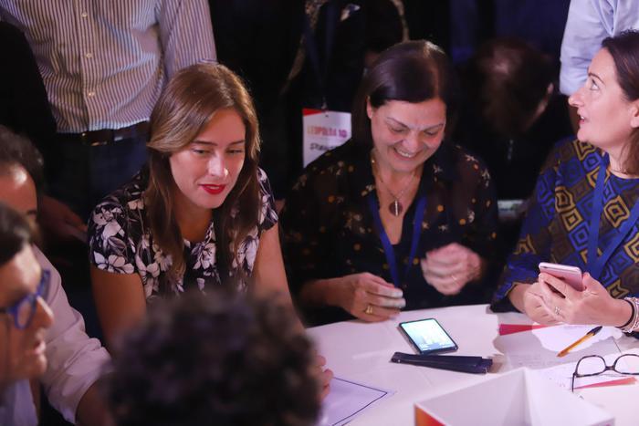 """Maria Elena Boschi dalla Leopolda attacca il Pd: """"E' il partito delle tasse"""""""