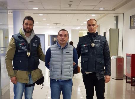 Estradato in Italia il boss della Dama Bianca Pasquale Fiorente