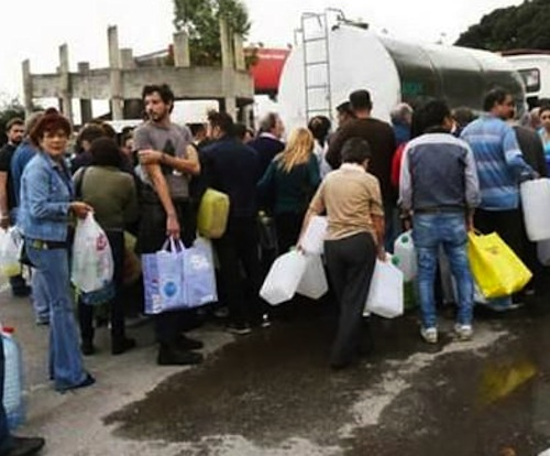 Messina è di nuovo senz'acqua, il governo Renzi invia il capo della Protezione civile nazionale