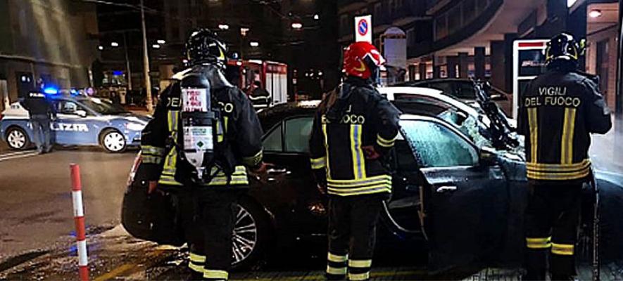 Botti di Capodanno, 229 interventi in Italia dei vigili del fuoco