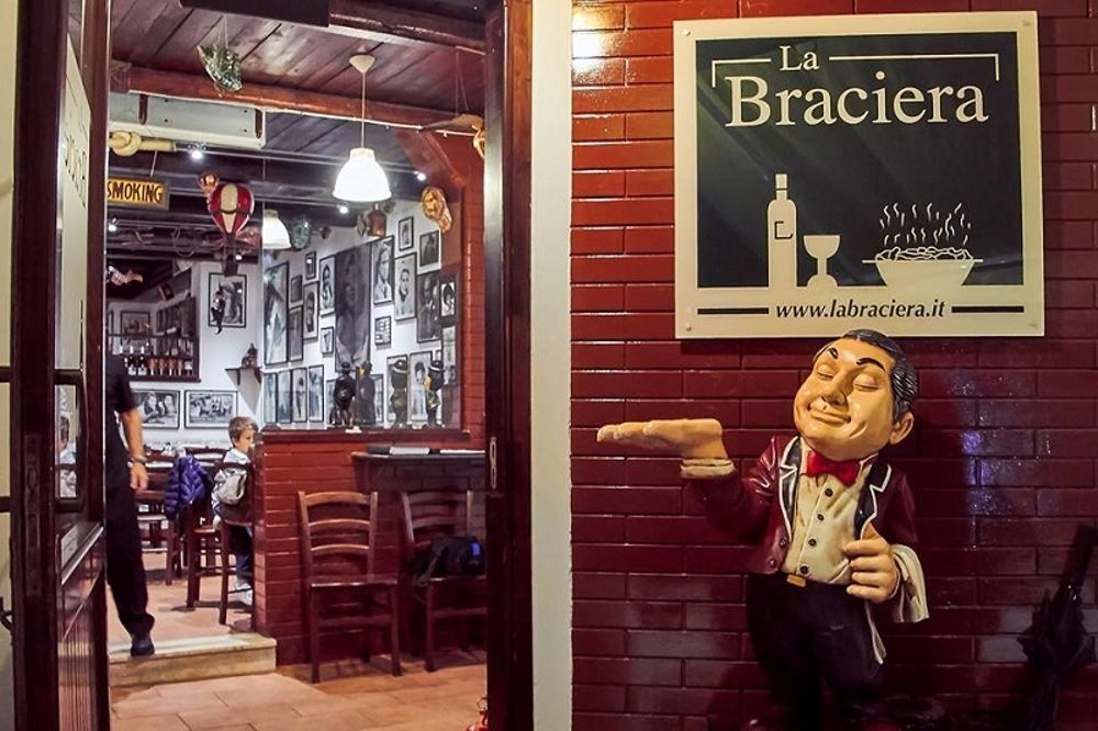 La pizzeria La Braciera di Palermo premiata dal Gambero Rosso