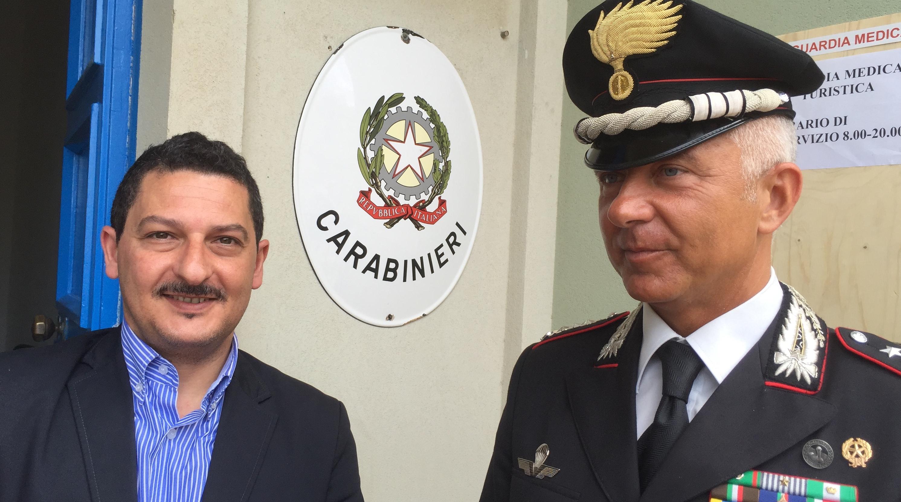 Siurezza, Stazione dei carabinieri a Marzamemi fino al 31 agosto