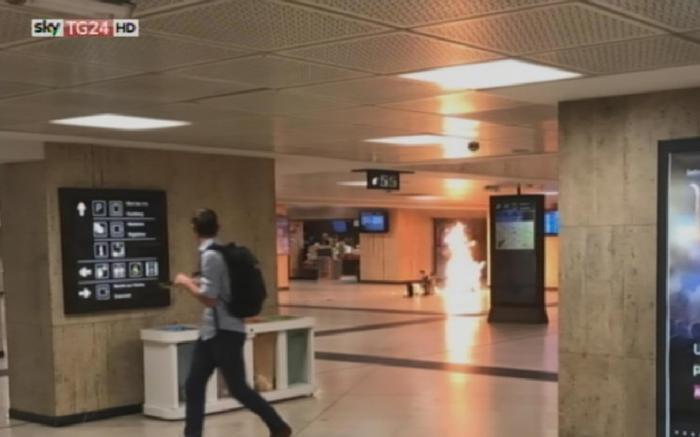 Sventato un attentato nella stazione di Bruxelles