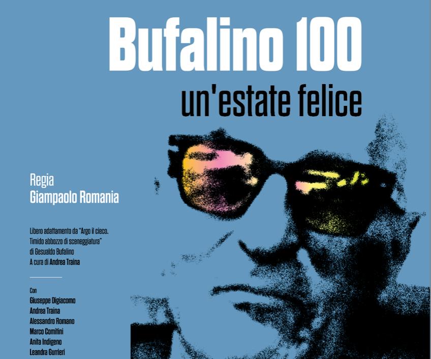 """Comiso, """"Bufalino 100. Un'estate felice"""" in scena allo Spazio Naselli"""