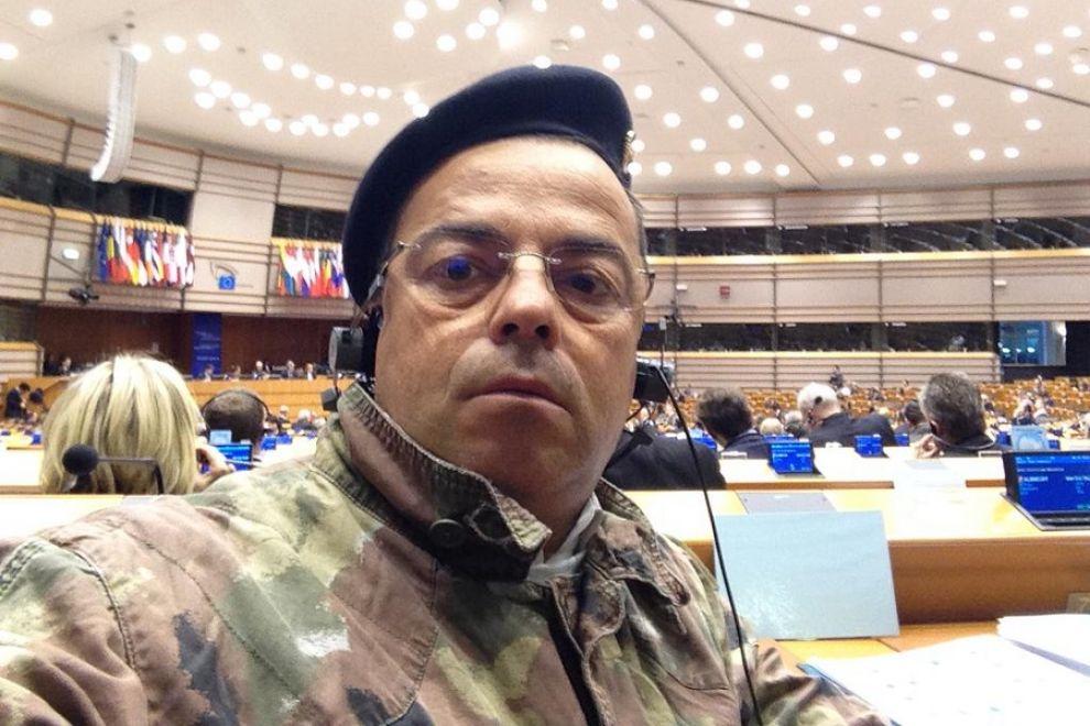Un minuto di silenzio a Strasburgo per la morte di  Gianluca Buonanno (Lega)