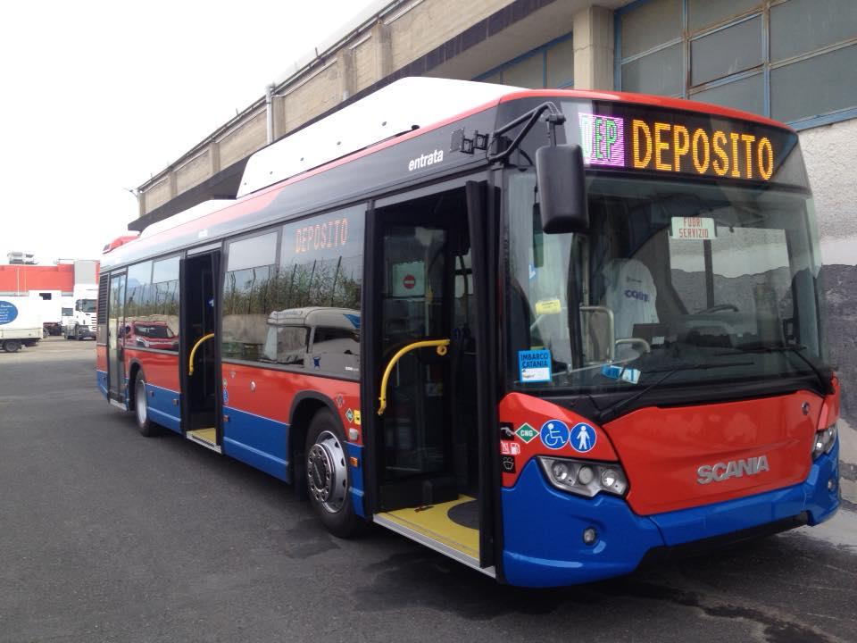 Catania, arrivati 5 autobus acquistati dall'Atm di Milano