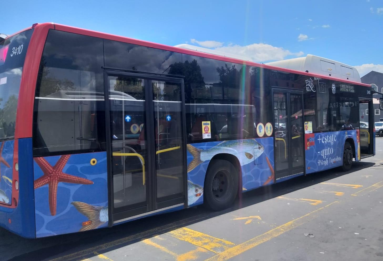 Catania, potenziate le linee di bus verso il mare