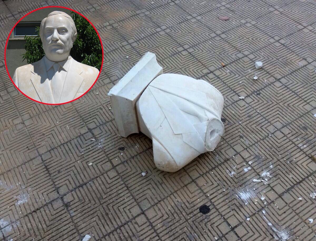 Palermo, funzionari di polizia restaureranno il busto Falcone