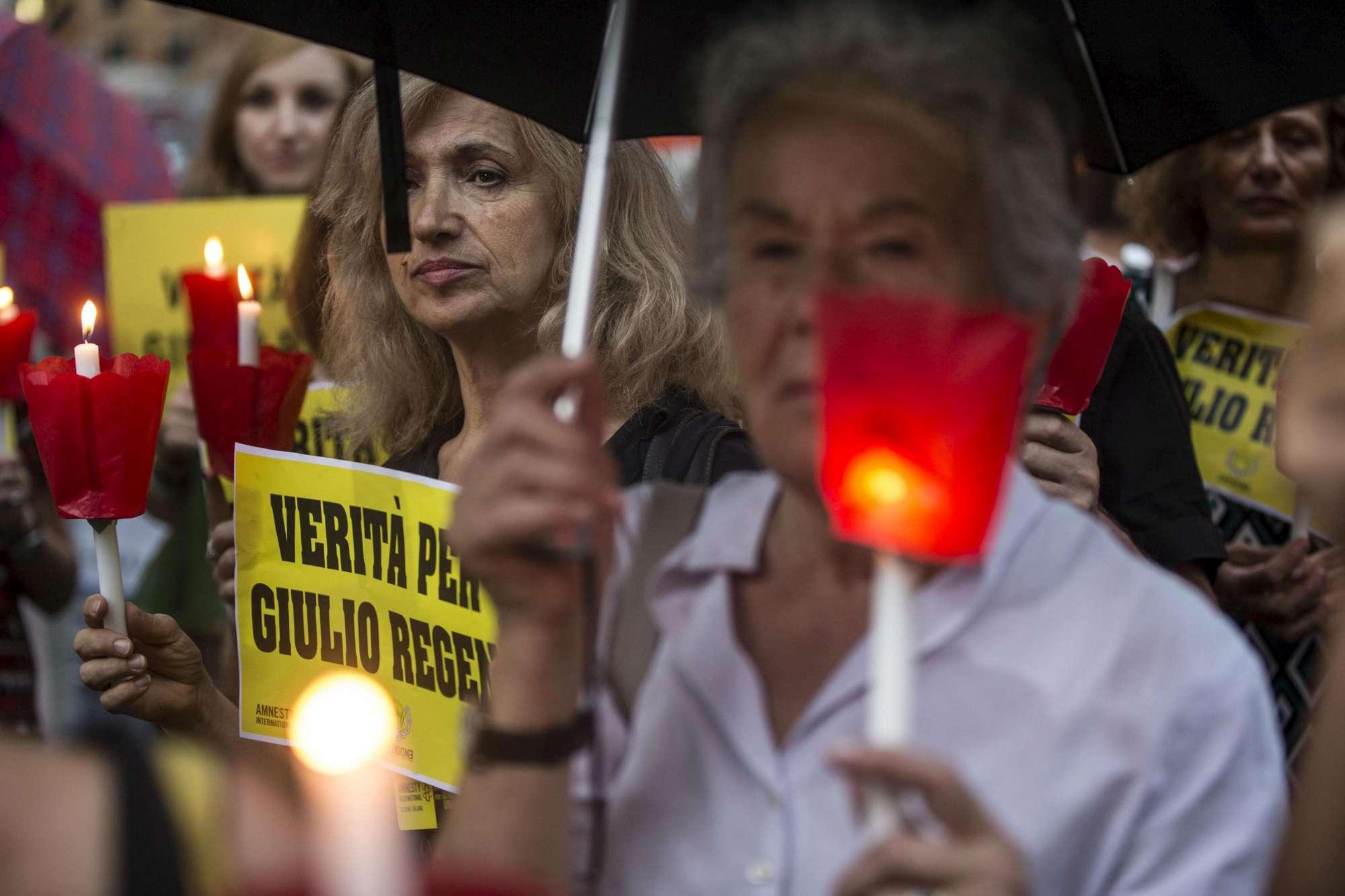 Fiaccolate a Ragusa  e Siracusa di Amnesty a 4 anni dalla scomparsa di Giulio Regeni