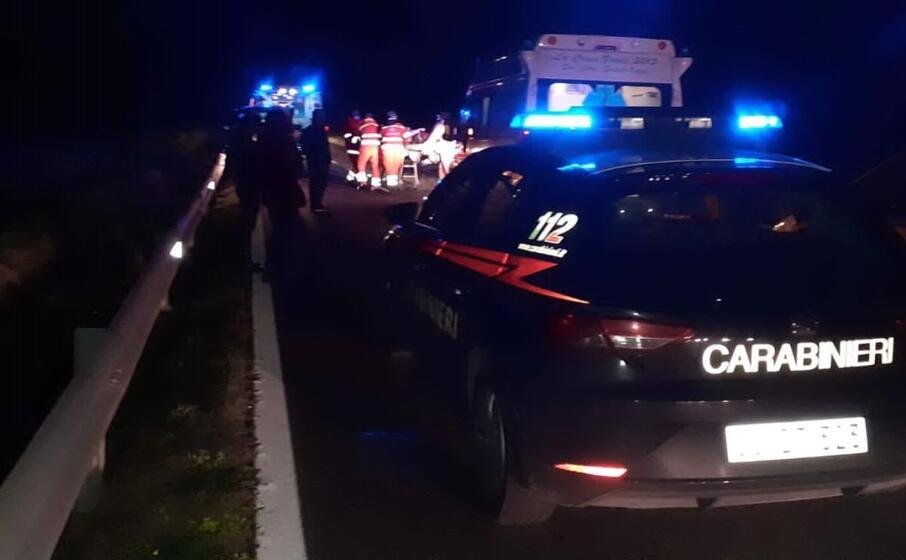 Scontro tra auto nel Sud della Sardegna: un morto e 4 feriti