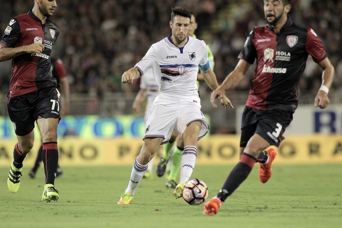 Il Cagliari batte la Samp alla quarta sconfitta di fila, il Crotone affonda con l'Atalanta