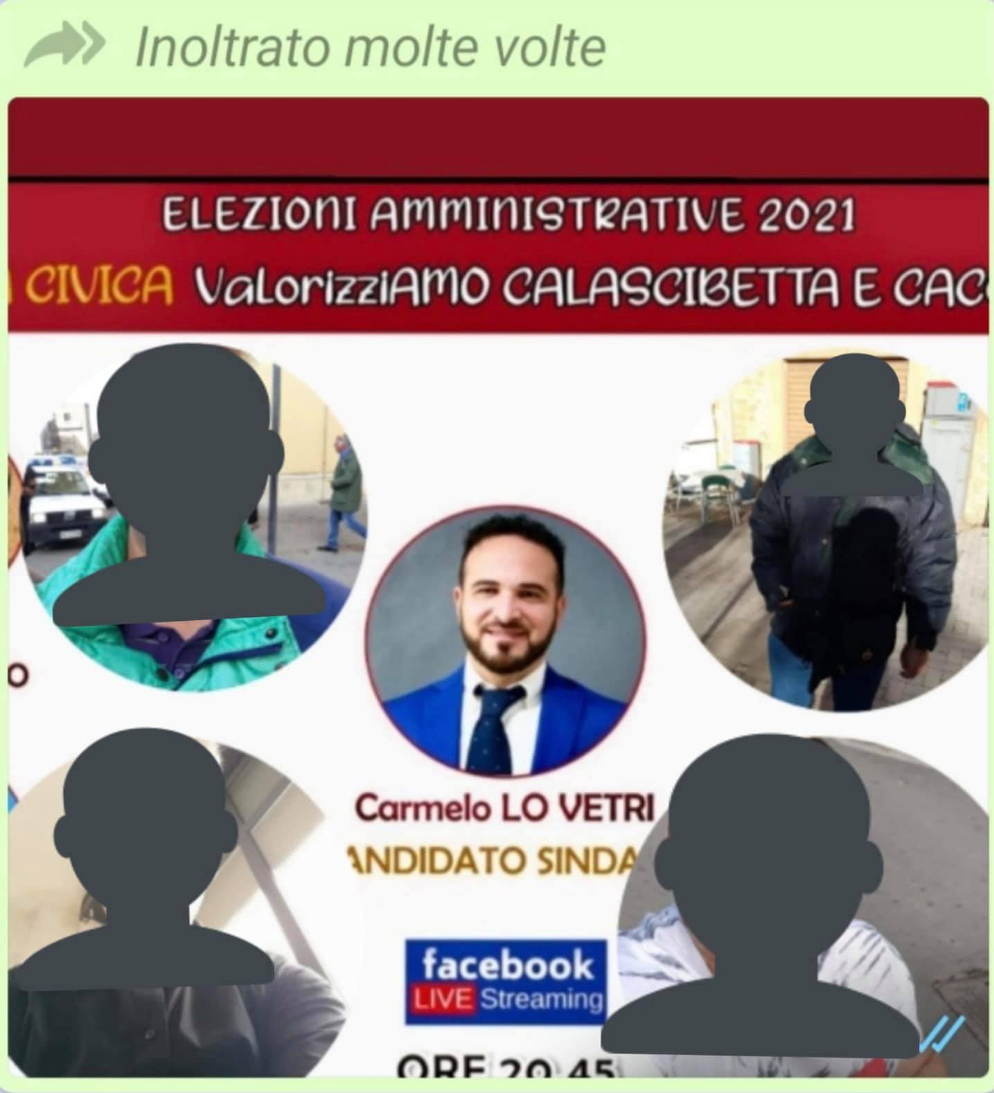 Immagine candidato sindaco di Calascibetta con fotomontaggio disabili: indagini