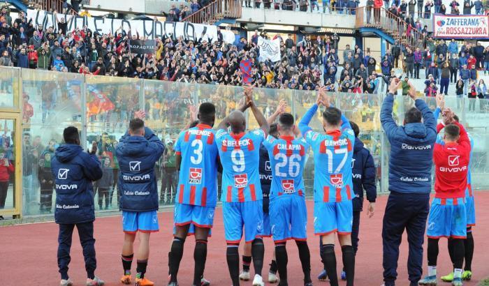 Catania Calcio, fissata per il 25 l'udienza per la dichiarazione di fallimento della società