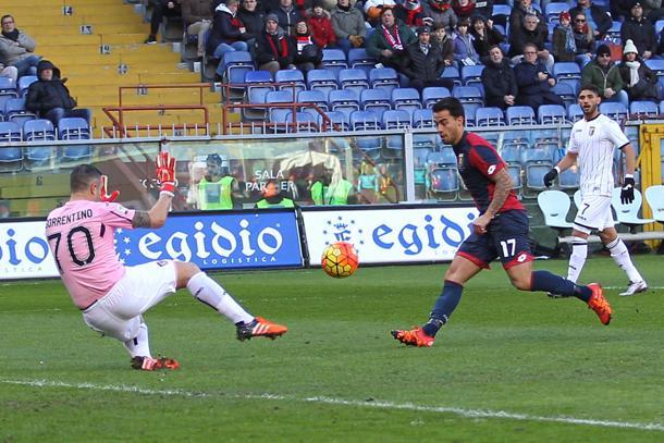 E' notte fonda per il Palermo, in casa del Genoa incassa 4 gol