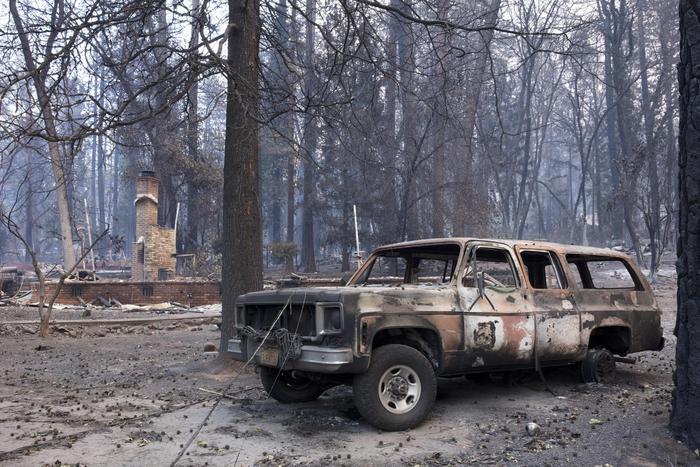 Le fiamme in California, salgono a 31 i morti