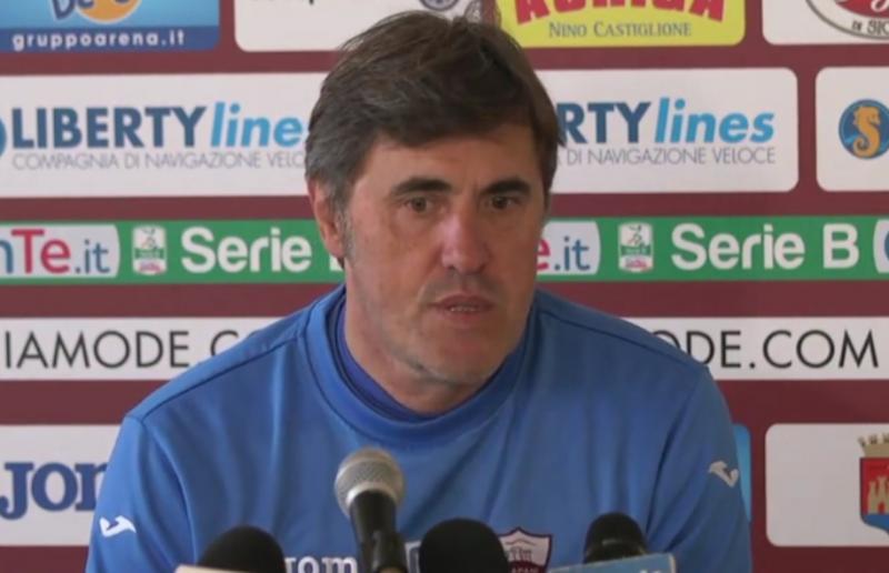 Calori confermato  allenatore del Trapani: firmato un contratto biennale