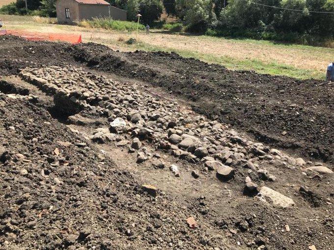 Scoperta a Caltavuturo una strada del secondo secolo dopo Cristo