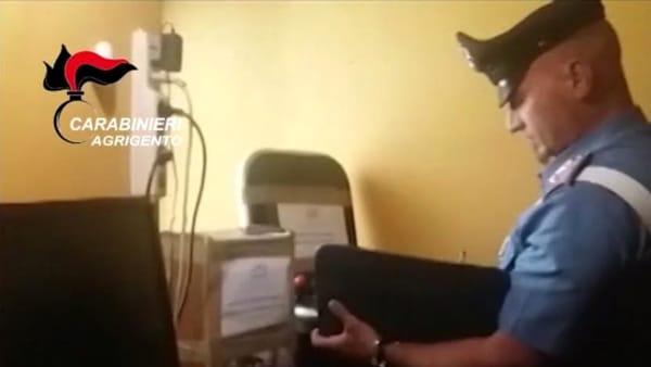 Videopoker clandestini a Campobello di Licata: sequestrate 10 macchine