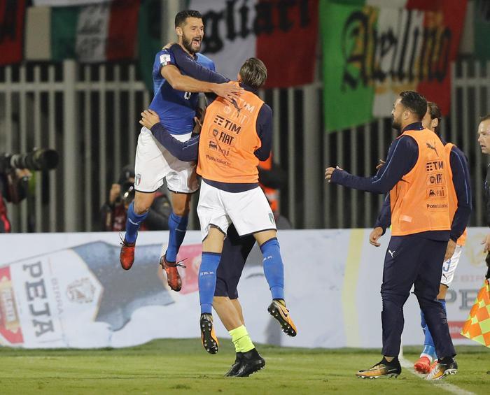 Qualificazione ai Mondiali, l'Italia batte l'Albania: decide Candreva