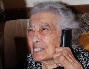 Una grande festa a Canicattì, nonna Diega ha festeggiato 111 anni