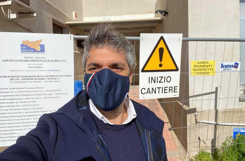 Pronto soccorso di Avola, al via i lavori, il sindaco: il nostro impegno per i cittadini