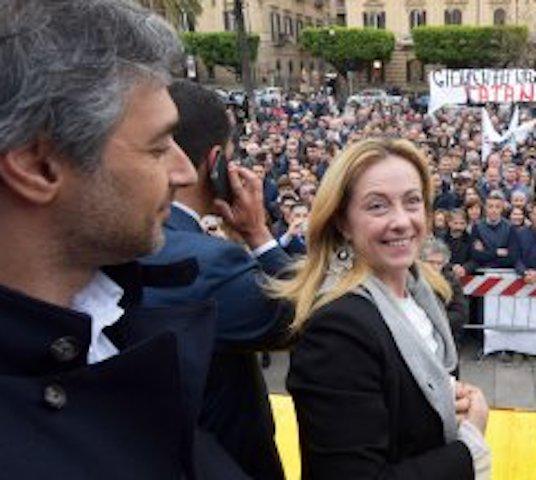 """Europea, Cannata e Rizzo: """"Condividiamo i valori di Giorgia Meloni"""""""