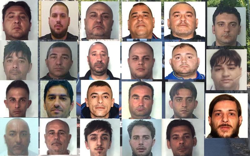 Armi e droga a Catania, altro colpo al gruppo dei Nizza: 26 arresti